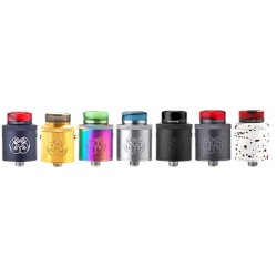 Atomiseur Drop Dead RDA BF 24mm HELLVAPE