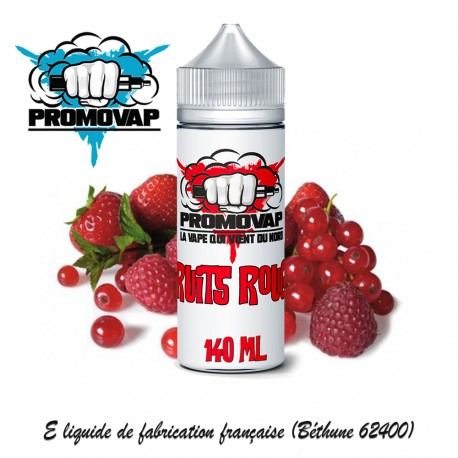 Fruits Rouges 140ml PROMOVAP