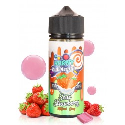 Horny Sour Strawberry Bubblegum 100ml HORNY FLAVA