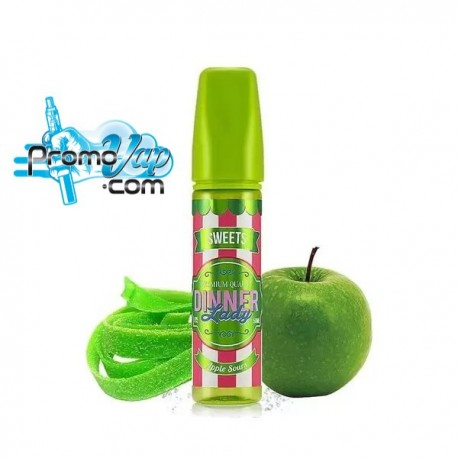Apple Sours Sweets 50ml DINNER LADY