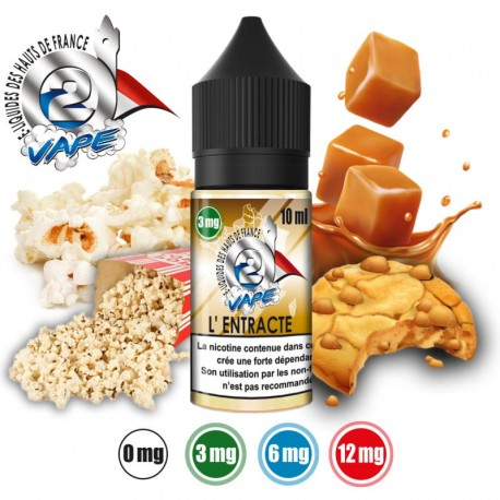 O2VAPE L'ENTRACTE 10 ml