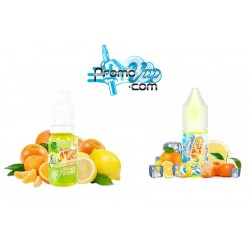 Citron Orange Mandarine Arôme concentré 10ml Fruizee