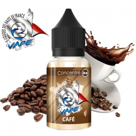 Café Arôme concentré 30ml O2Vape