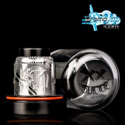 Damascus Valhalla limited édition RDA 28mm SUICIDE MODS