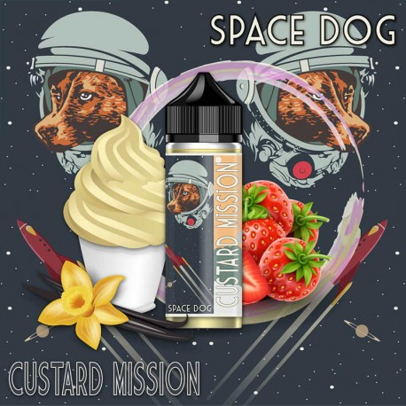 Space Dog 170ml CUSTARD MISSION