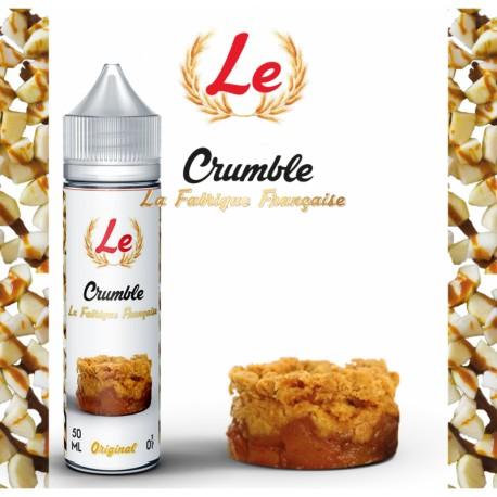 Crumble 50ml +Booster LA FABRIQUE FRANCAISE