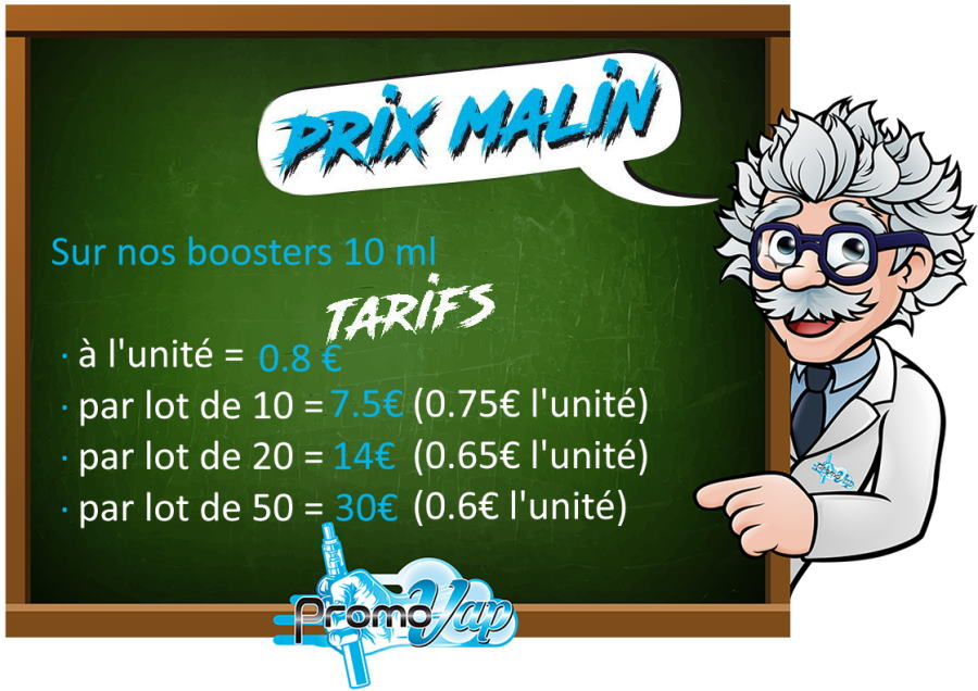 offre 50 booster o2